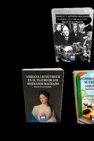 TODOS LOS LIBROS DE MANUEL ÁLVAREZ MACHADO